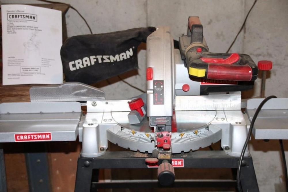 Craftsman Laser Compound Miter Saw Mod. 137.212540 - Current price $100 & Craftsman Laser Compound Miter Saw Mod. 137.212540 - Current ... Aboutintivar.Com