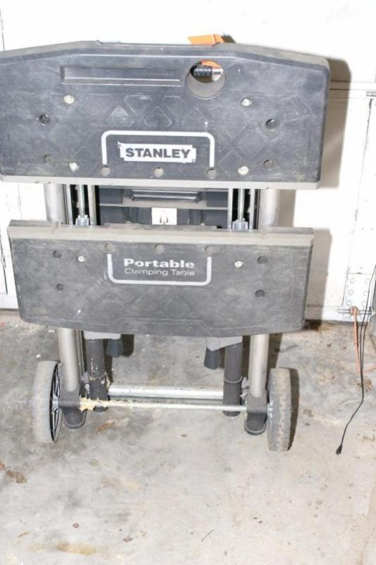 superior Stanley Portable Clamping Table Part - 2: Auctions - Atterberry Auction u0026 Realty Co., LLC
