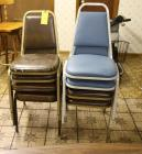 8 metal frame chairs