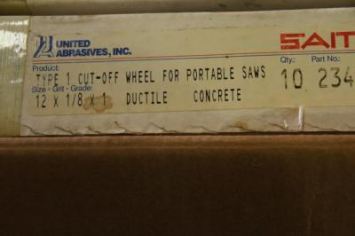 2 boxes of Type 1 cut-off wheels for portable saws