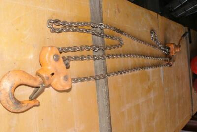 Vulcan 5-ton ratchet chain hoist