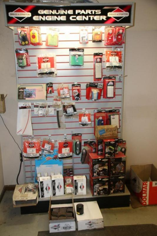 Briggs & Stratton small engine service and repair parts with