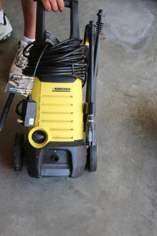 Karcher electric power washer - Current price: $22