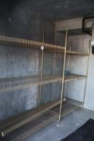 Portable metal shelving