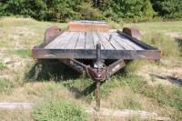 1998 Doolittle tandem axle trailer