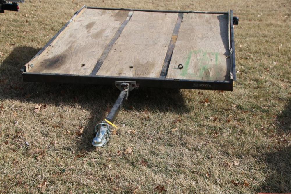 John Deere Flat Bed Tilt Trailer