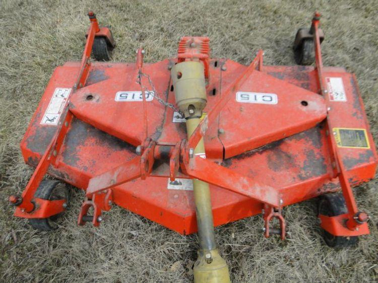Befco Mod  C15 3 Pt  Finish Mower - Current price: $360