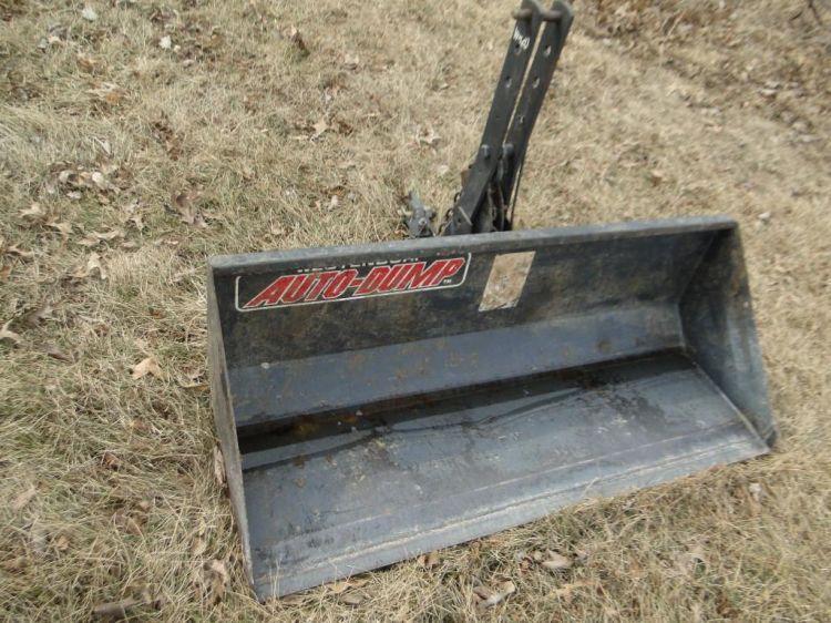 Westendorf Auto-Dump WR20 3 Pt  Bucket - Current price: $250