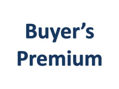 BUYER'S PREMIUM & PAYMENT METHOD
