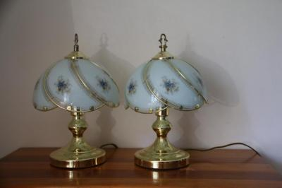 Pair of dresser touch lamps