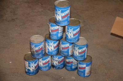 12 Unopened cans of Winter Start Artic Anti-Freeze