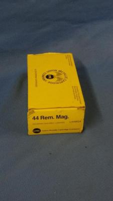 50 rounds of 44 rem mag, mixed brands